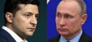 Zelensky called Vladimir Putin about Donbass