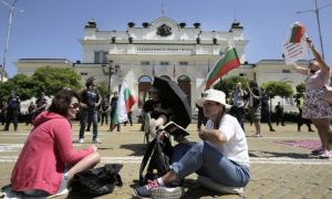 Protests continue in Bulgaria demanding the resignation of the government