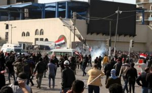 Two people killed in clashes in Baghdad