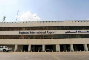 Iraqi Baghdad airport fired on missiles