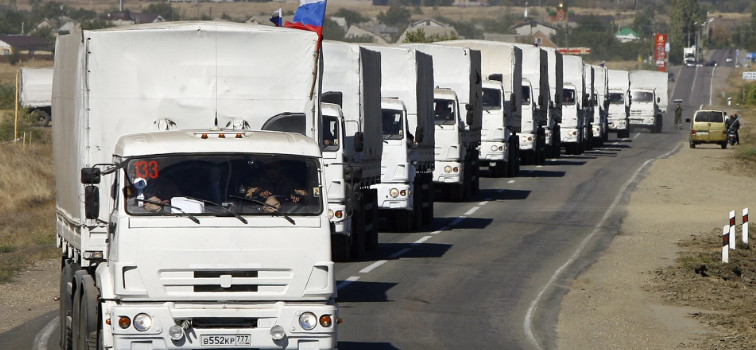 Ukrainian Foreign Ministry responded with a note of protest in response to another Russian humanitarian convoy to Donbass