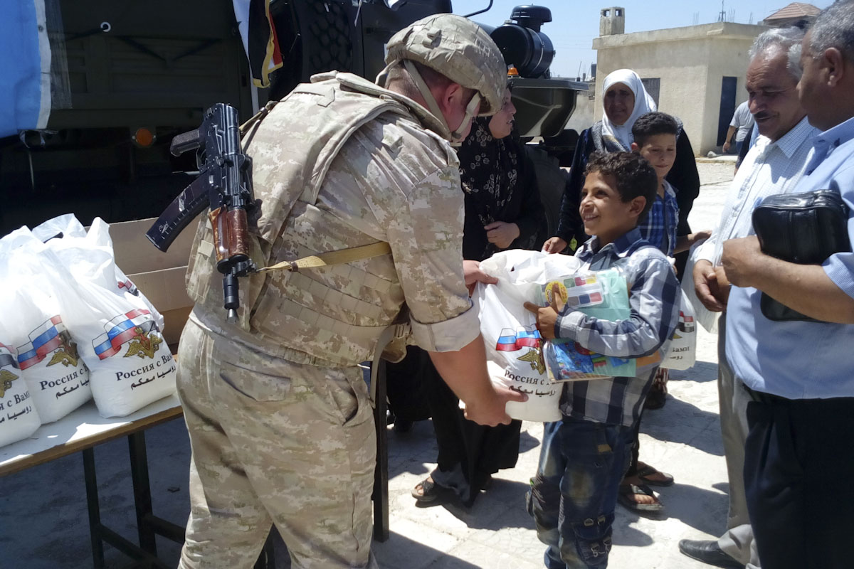Russia helps Syria establish peaceful life in liberated territories