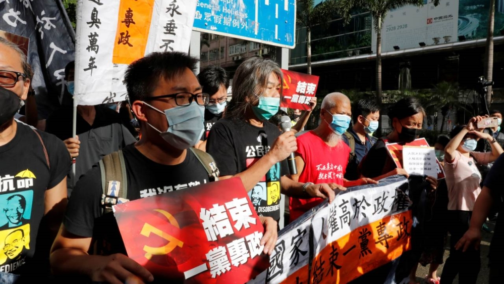 """China considers the West's threat to impose sanctions because of Hong Kong to be """"gangsters"""""""
