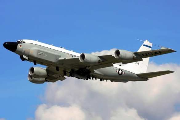 American plane conducted reconnaissance at the borders of the Russian Federation over the Sea of Japan