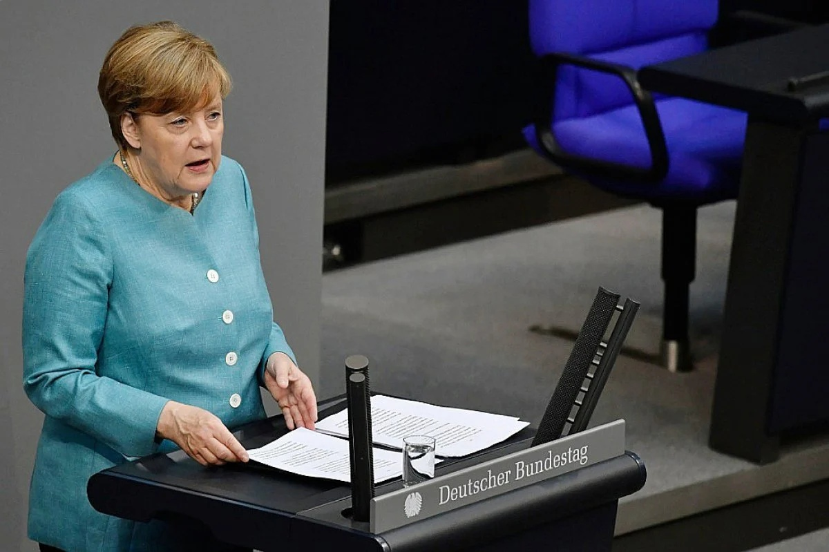 """""""We're working on it"""" - Merkel said that Nord Stream 2 will be completed"""