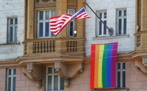 Putin on the gay flag over the US embassy: Now it's clear who works there