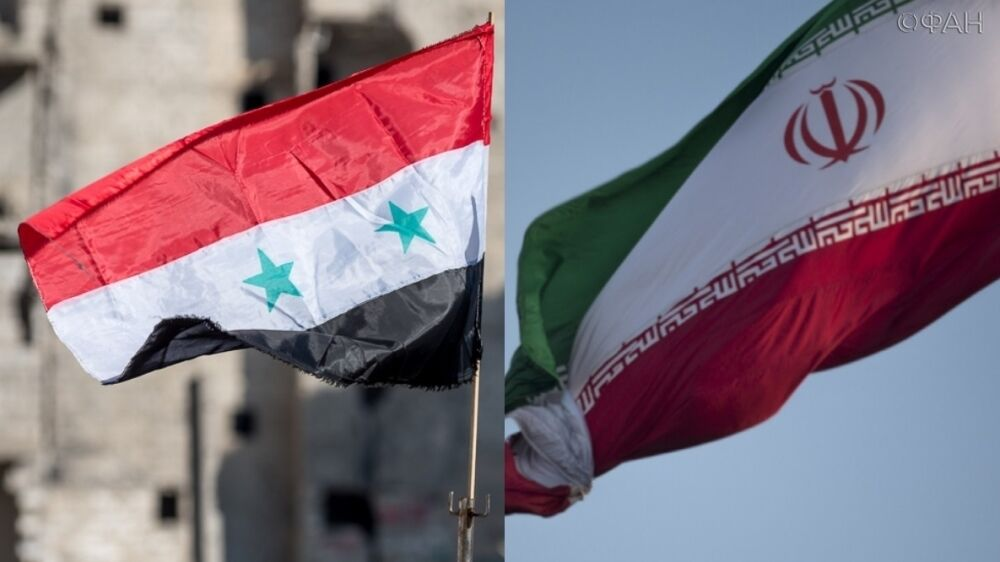 Syria and Iran sign a military cooperation agreement