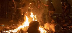 Beirut protests over 230 victims