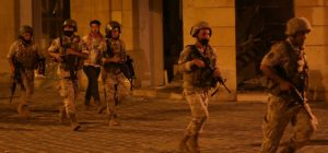 Lebanese military opened fire to disperse protesters