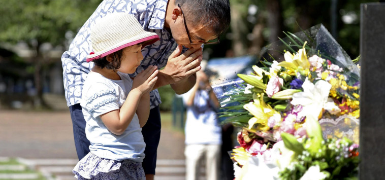 Nuclear strike victims commemorated in Nagasaki