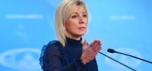 Zakharova accused Macron of hypocrisy for calling to support Belarusian protests