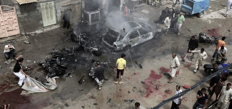 An explosion in the Syrian province of Raqqa: at least 3 people injured