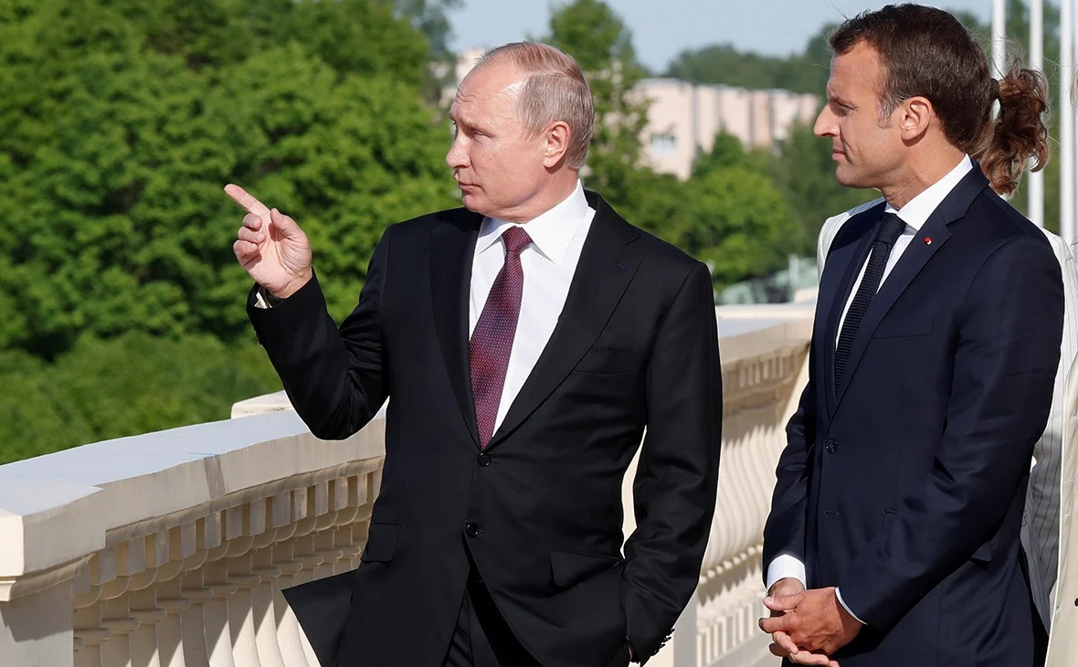 Putin advised Macron not to interfere in the Belarusian affairs