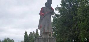 Monument to Soviet soldiers was again desecrated in Lithuania
