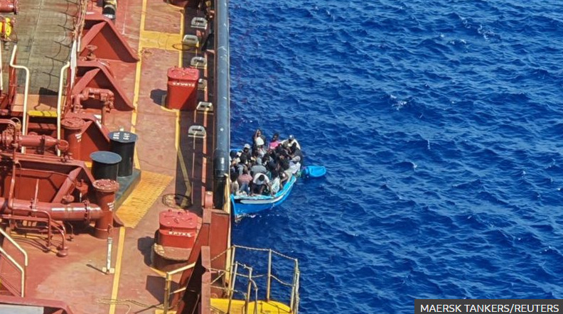 Migrants in Mediterranean allowed to land after 40 days at sea