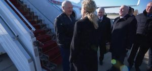 Alexander Lukashenko arrives in Sochi to meet with Vladimir Putin