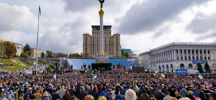 A plan for a new Maidan has been prepared in Ukraine