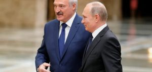In Sochi, Putin starts meeting with Lukashenko