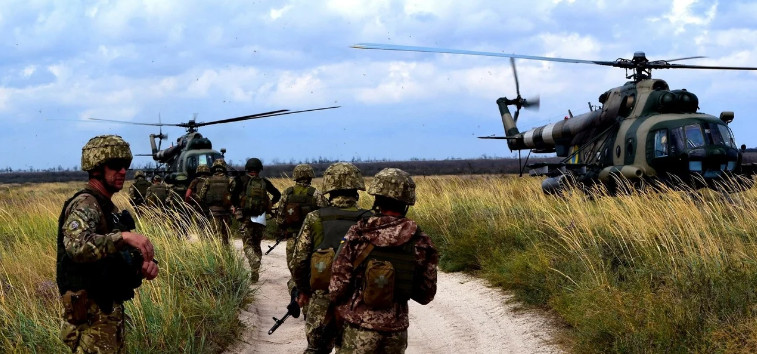 Kiev transfers fighters and army to the Belarusian-Ukrainian border
