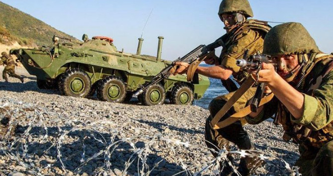 In the Caucasus, NATO troops will not be able to resist Russian soldiers
