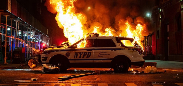 In the US, funding of megalopolises where unrest continues