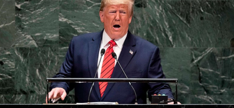 Trump bragged about Middle East talks and scolded China at UN General Assembly