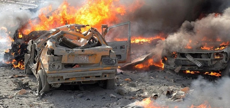 Five militants died in Iraq while planting explosives in cars