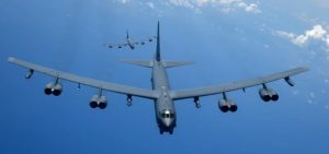 "American B-52 tried to ""work off the blow"" on Russia"