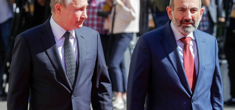 Putin had a telephone conversation with the Prime Minister of Armenia