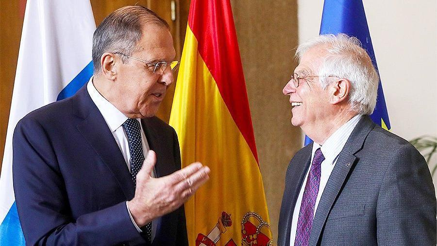Lavrov and Borrel discussed the situation in Nagorno-Karabakh