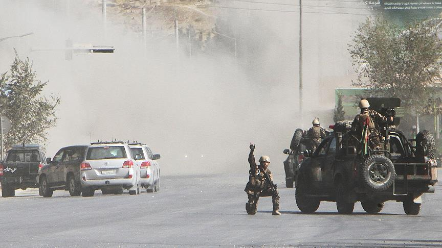 Media: Unknown people have attacked a police building in Afghanistan