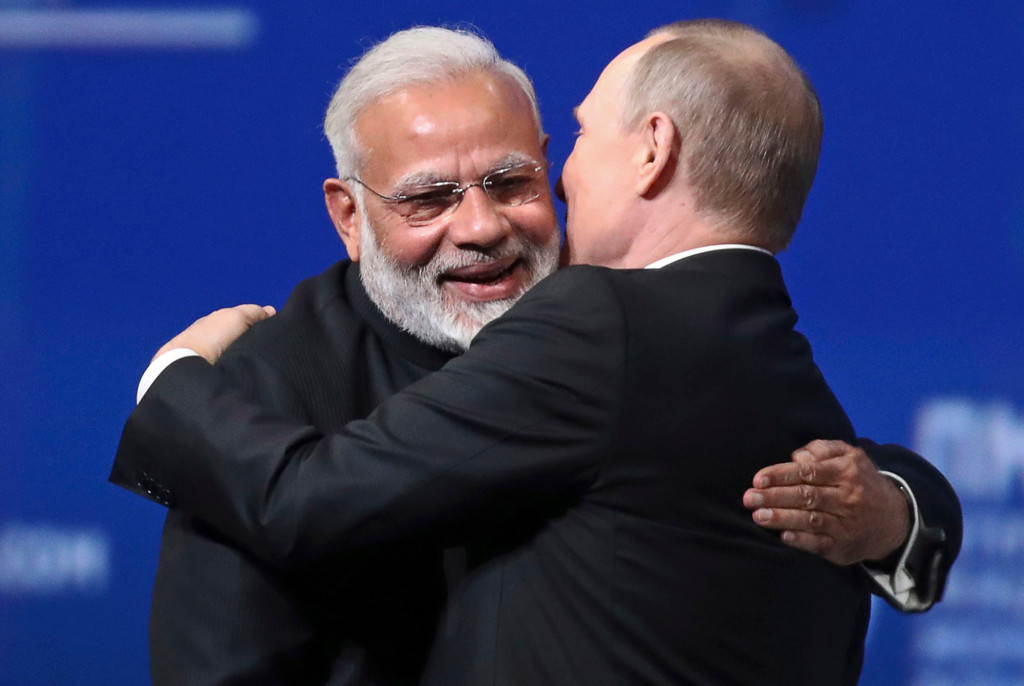 The Putin and Modi Summit may take place in India when the epidemic situation allows