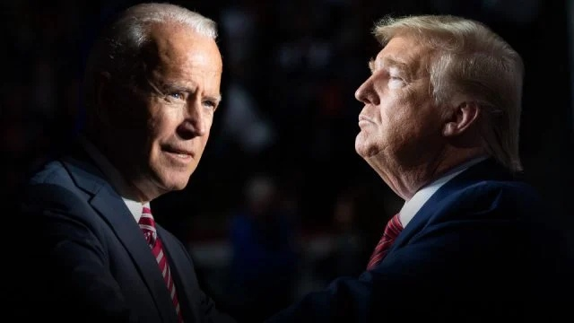 Trump reduced the gap to Biden in terms of support level