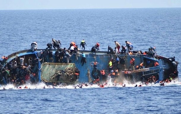 A shipwreck in the Mediterranean Sea with illegal migrants resulted in 74 deaths