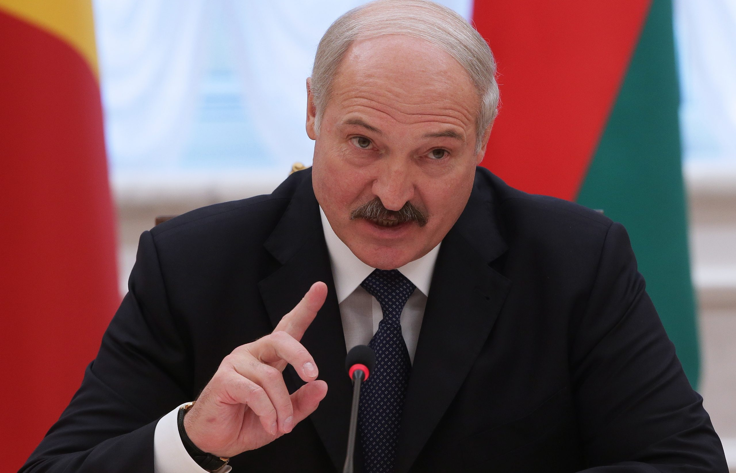 Lukashenko stated that with the launch of the nuclear power plant Belarus becomes a nuclear power country