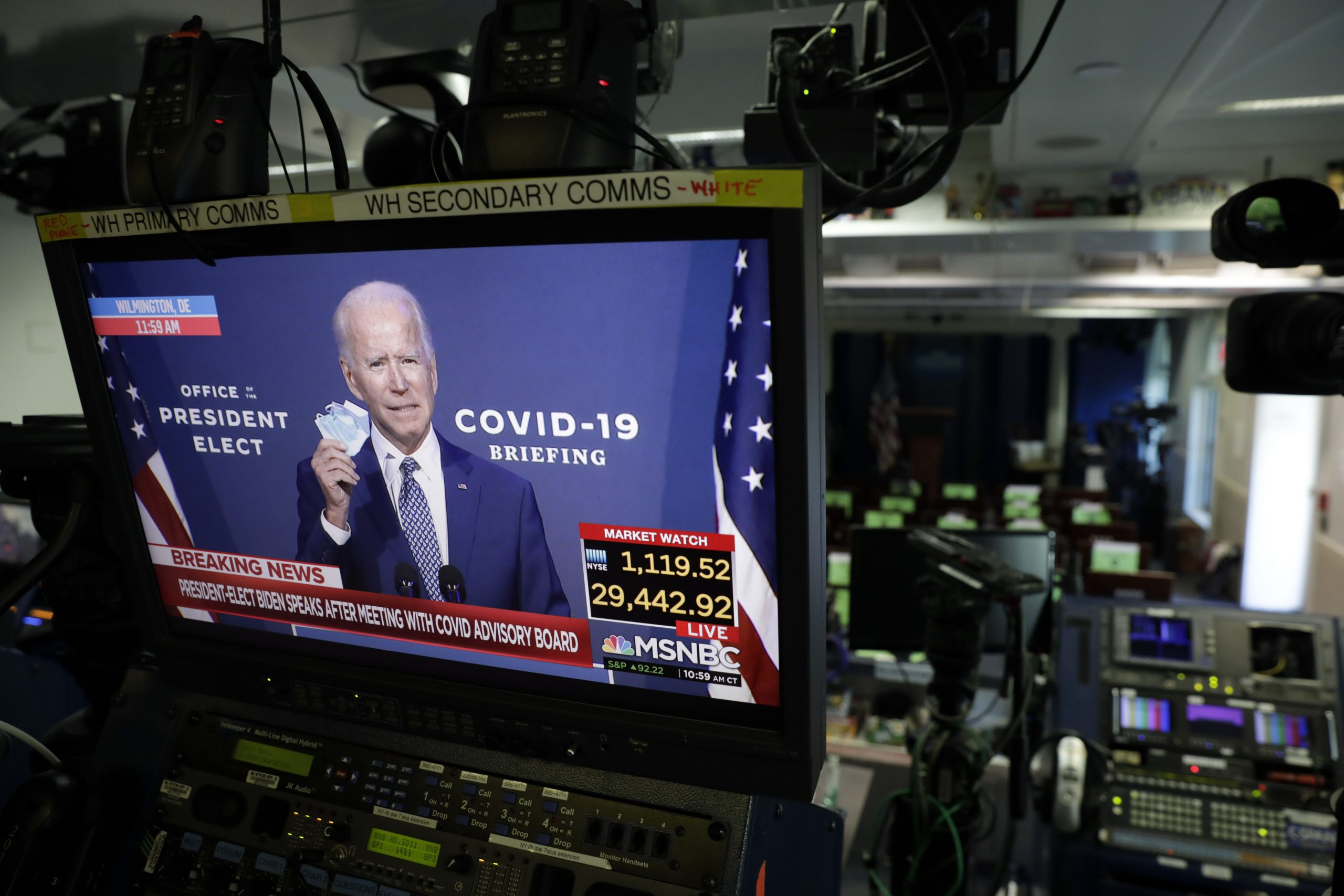 The US stated that Biden's pandemic plan is similar to Trump's decisions