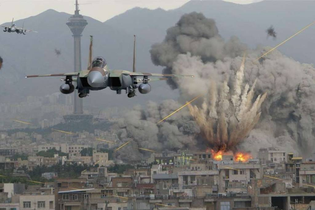 Russian aviation intensively hits IS militants