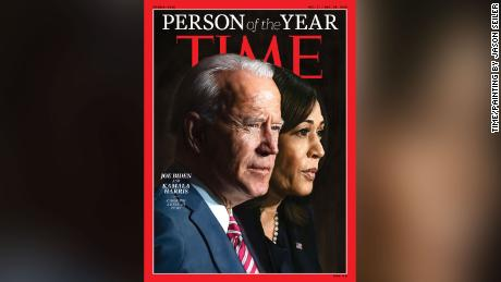 """Time magazine named Biden and Harris """"Person of the Year"""""""