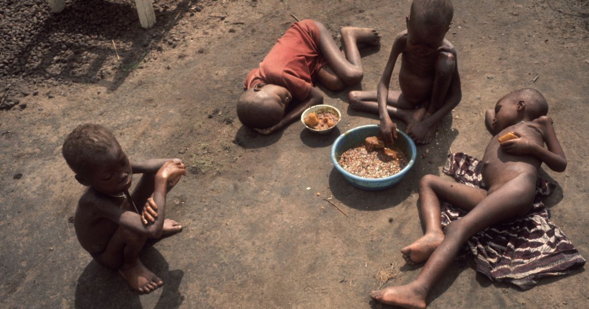 A famine has broken out in Nigeria amid the second wave of the coronavirus. People take shops by raid