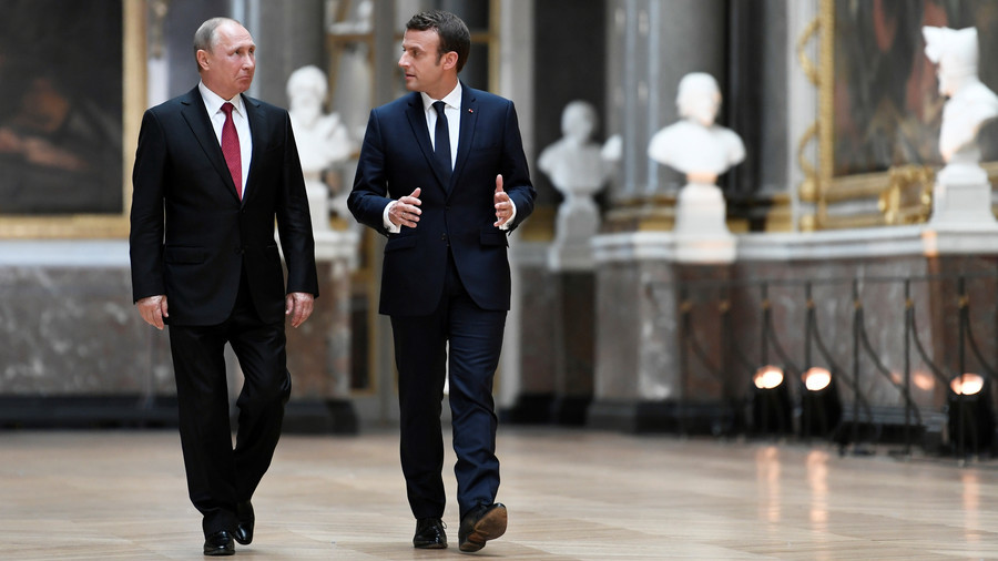 Putin and Macron had a telephone conversation