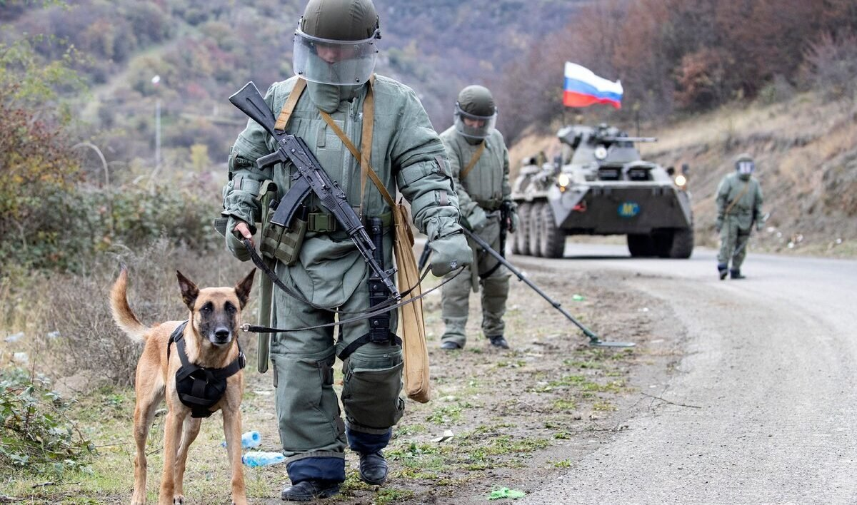 Russian sappers have defused more than 9,000 explosive objects in Nagorno-Karabakh