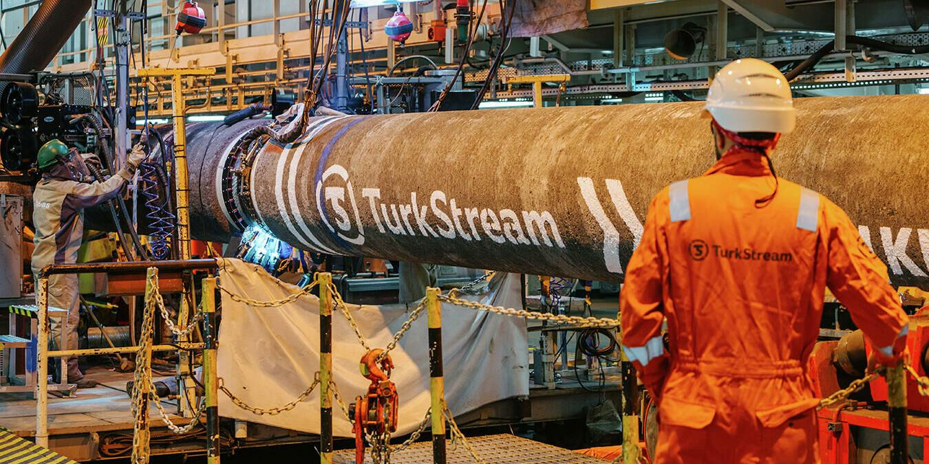 Serbian section of Turkish Stream started to be filled with gas