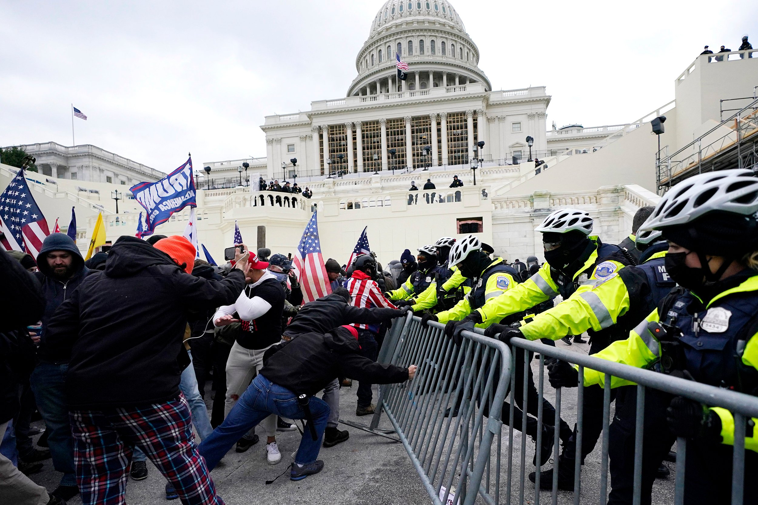 Media: FBI and NYPD warned Capitol Police of impending riots