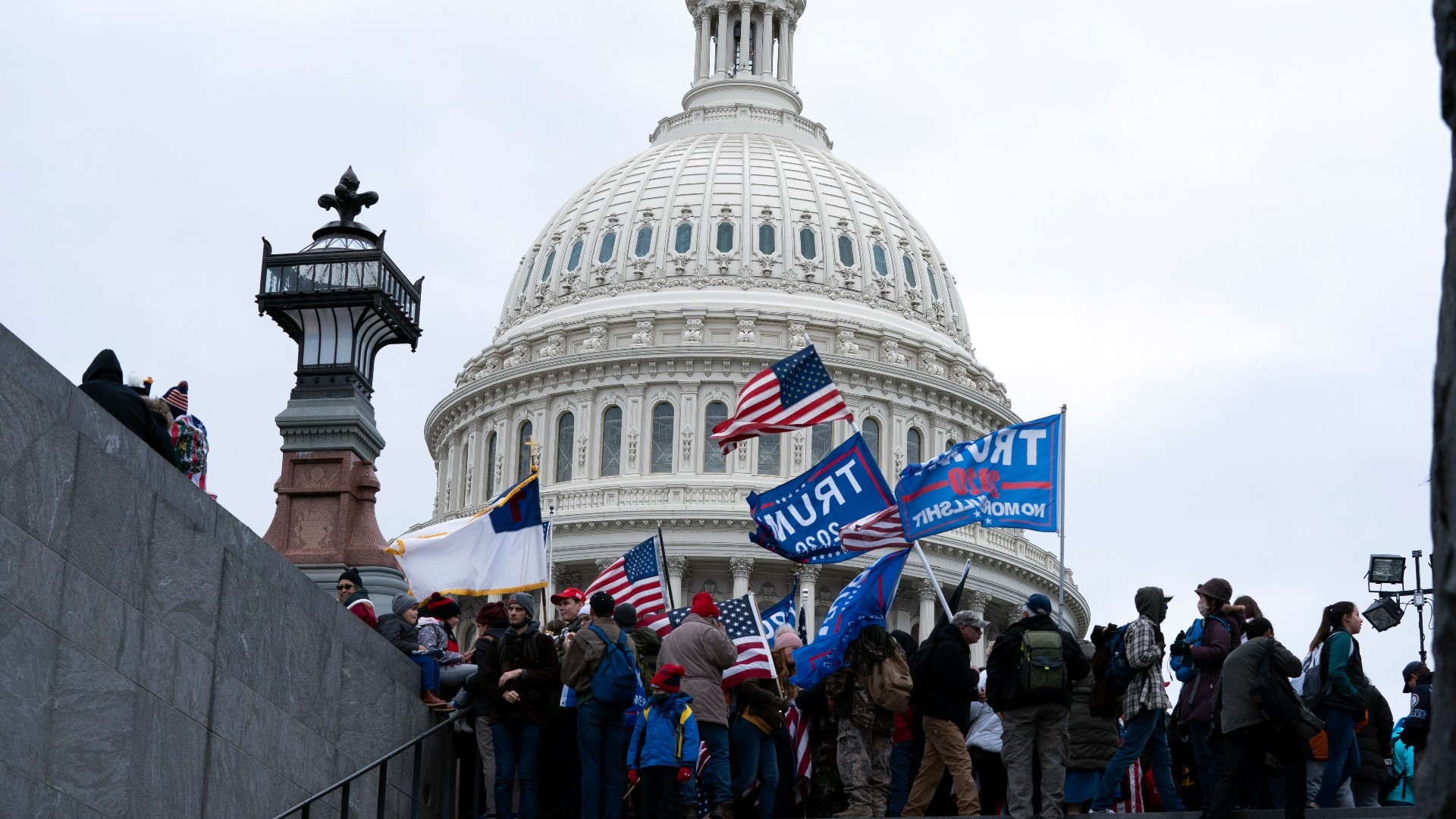 Two buildings near the US Capitol complex evacuated due to protests