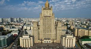 Russia Foreign Ministry reacts to the riots in the USA