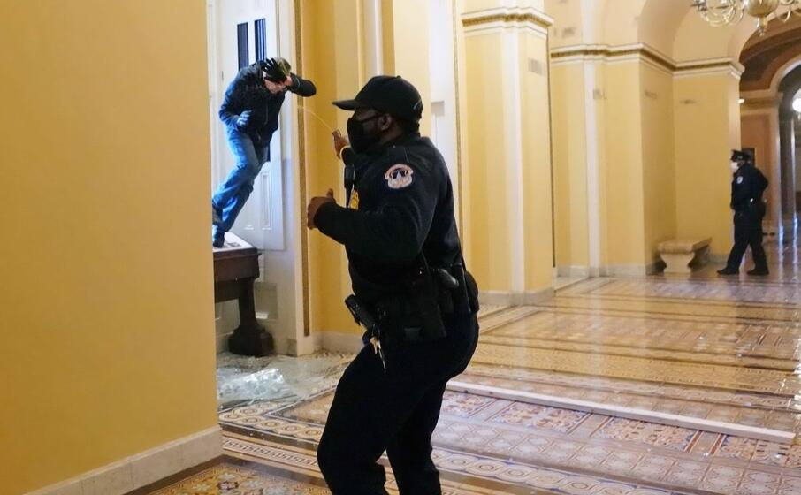 Capitol building cleared of Trump supporters
