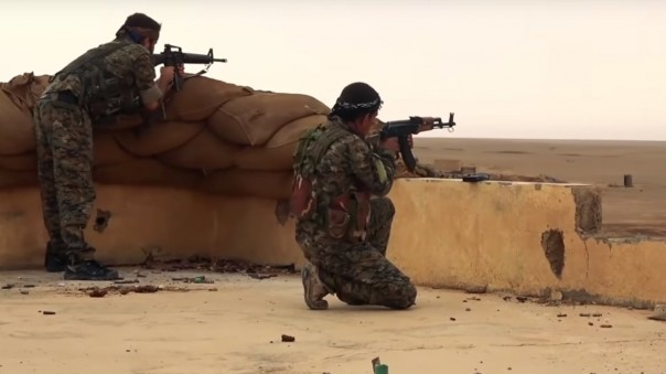 Kurds in northern Syria attack remnants of ISIS*