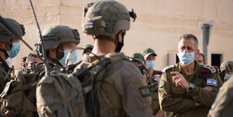 Israel conducts unplanned exercises on the northern border
