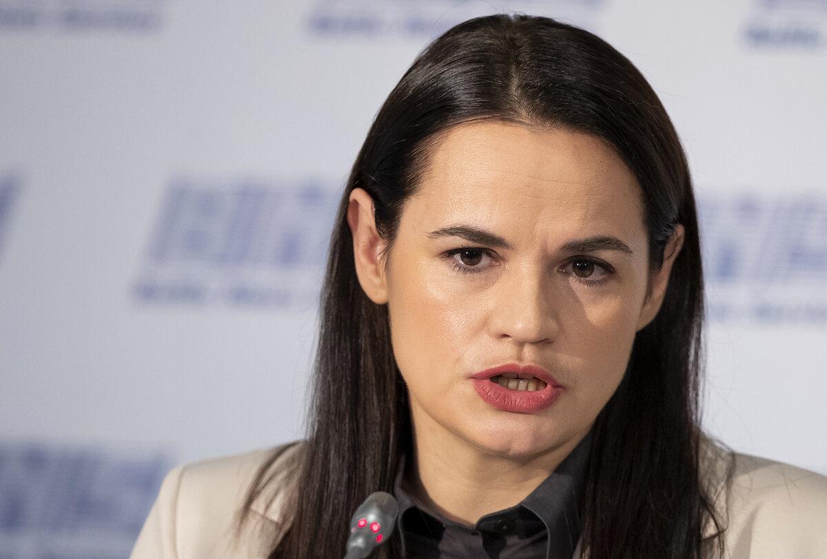 Belarusian oppositional leader Tikhanovskaya admits defeat of Belarusian opposition