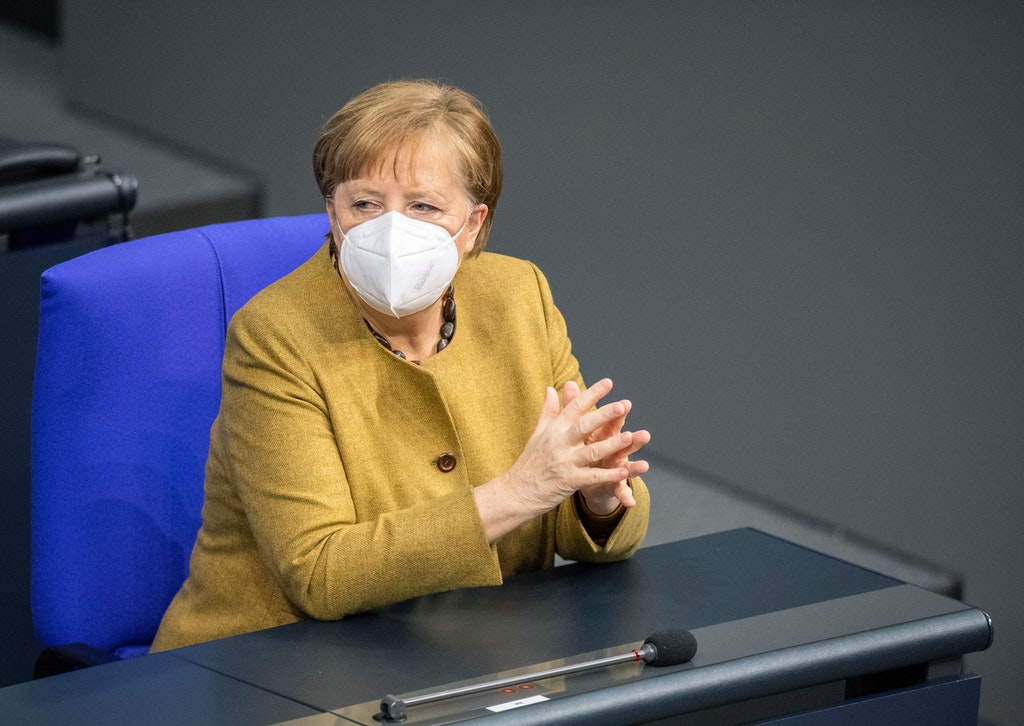 Merkel promised to vaccinate the entire population of Germany by the end of summer
